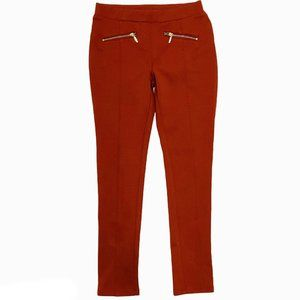 Fame Forever Deep Burnt Orange Core Treggings